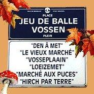 Mercatino delle pulci a Place du Jeu de Balle